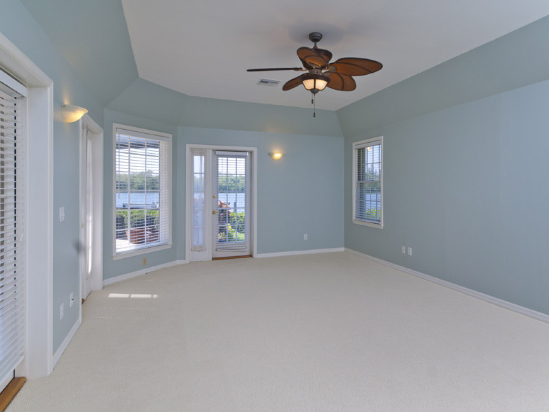 Castaway Cove Riverfront Home Master Bedroom