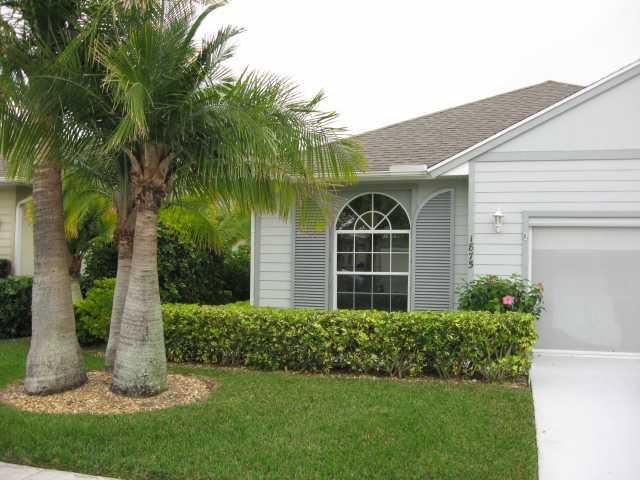 Vero Beach Home For Sale In The Garden Grove: Exterior Front