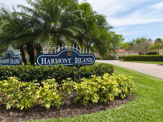 Harmony Island Community Entrance in Vero Beach
