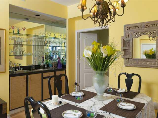 Grand Harbor Harmony Island Condo Dining Room