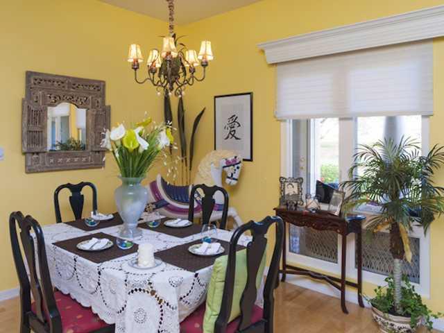 The Dining Room in Grand Harbor Vero Beach Condo