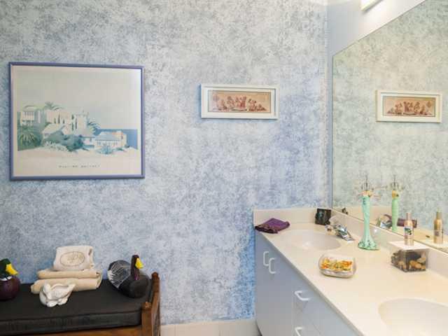 Harmony Island Condo Master Bath & Spa in Vero Beach