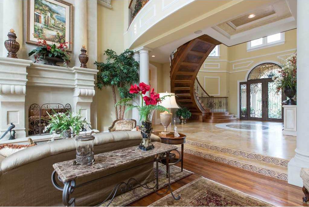 Foyer Hallway Florida : Merritt island ultra luxury estate brevard county florida