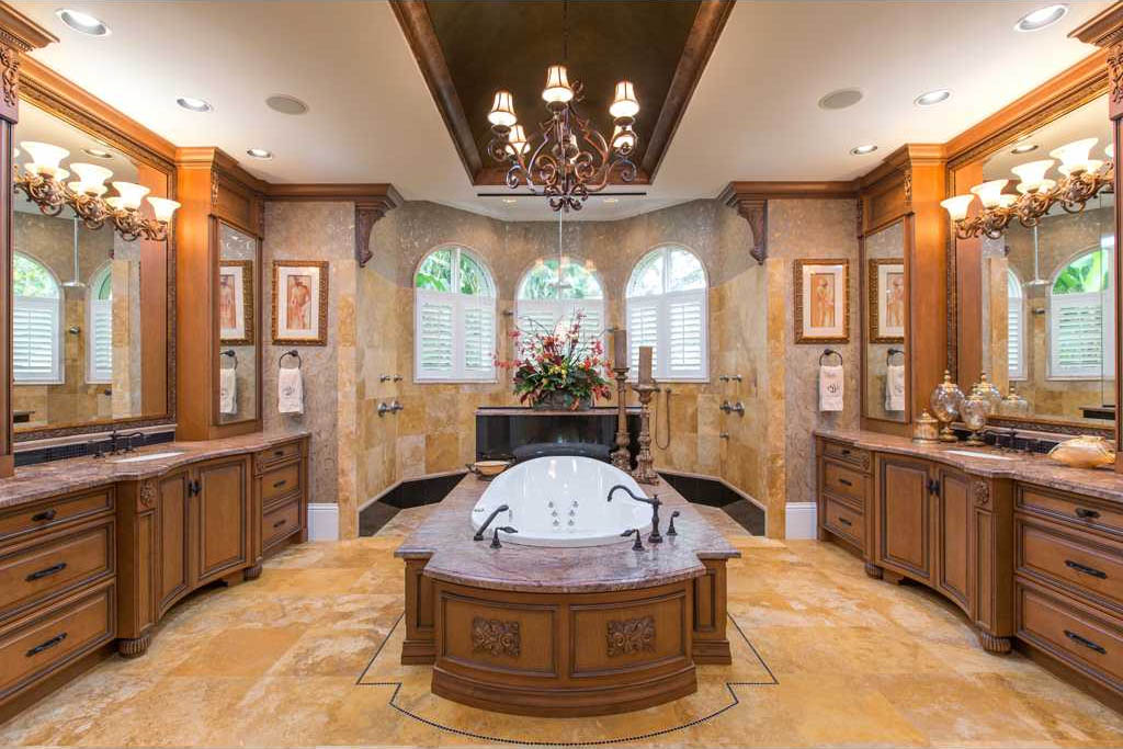 Merritt island ultra luxury estate brevard county florida Luxury master bathroom suites
