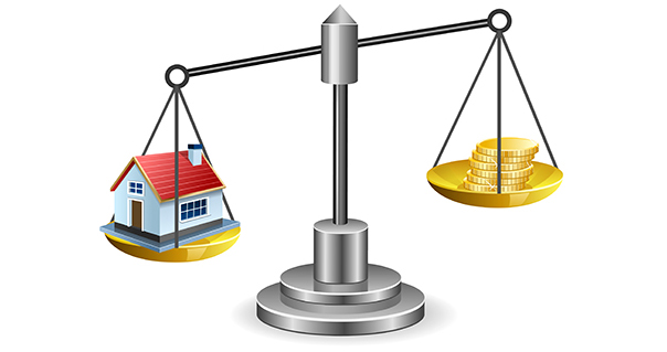 The Cost of a Home vs. Price